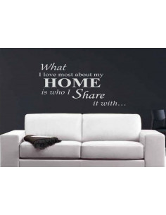 What i love most about my home is who i share it with 161