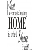 What i love most about my home is who i share it with 162