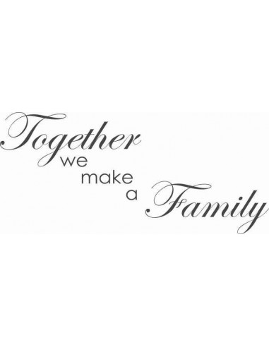 Together we make a family 14