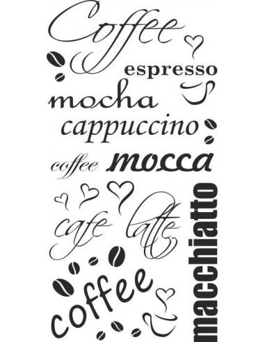 Naklejka do kuchni coffee mocca cappucino 68