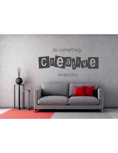 do something creative everyday 7 mocnaklejek