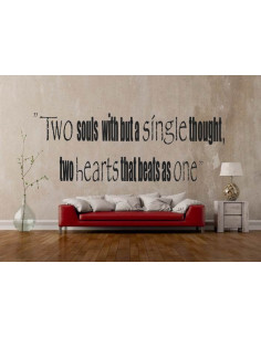 Two soul with but a single tought, two hearts that beats as one 73