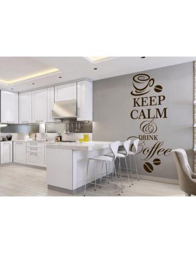 Keep calm and drink coffe 125
