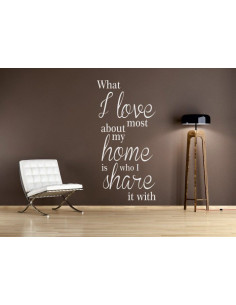 What i love most about my home is who i share it with 137