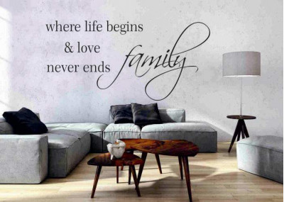 Family where life begins and love never ends 156