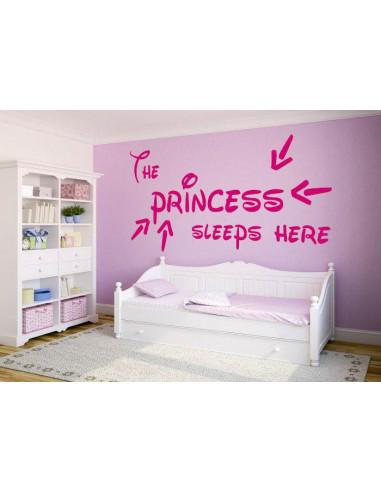 The Princess sleeps here 200