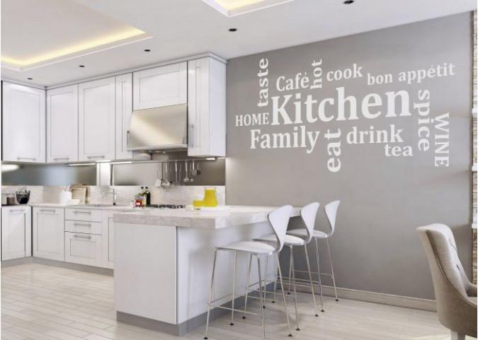 Naklejki na sciane w kuchni