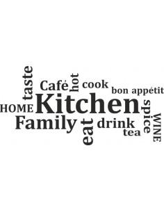 naklejka do kuchni KITCHEN 214