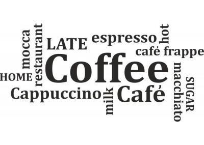 naklejka do kuchni COFFEE 215