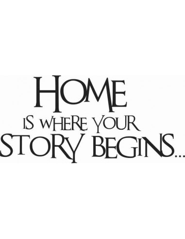 Home is where your story begins 31