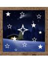 dekoracja na okno - gwiazdki 601