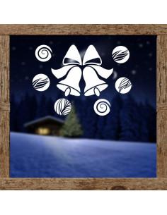 dekoracja na okno - dzwonki 606