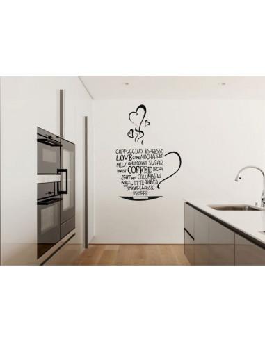 Naklejka do kuchni kawa 701