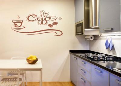 Naklejka do kuchni kawa 700