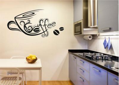 Naklejka do kuchni kawa 703