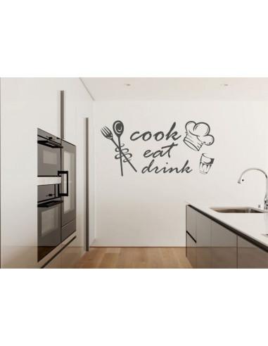 Naklejka do kuchni rewolucje kuchenne 711