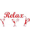 Naklejka do kuchni relax 718