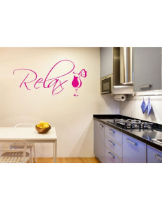 Naklejka do kuchni relax drink 719