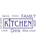 Naklejka do kuchni kitchen 720