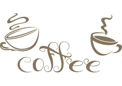 Naklejka do kuchni coffee 721