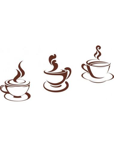 Naklejka do kuchni filiżanki kawy 722
