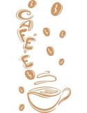 Naklejka do kuchni coffee 728