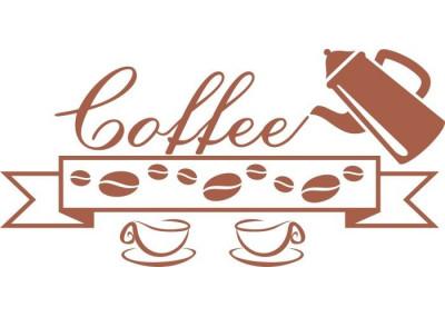 Naklejka do kuchni kawa 729
