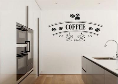 Naklejka do kuchni kawa 735