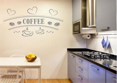 Naklejka do kuchni kawa coffee 736