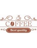 Naklejka do kuchni coffee kawa 742