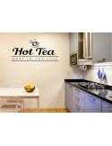 Naklejka do kuchni hot tea 731