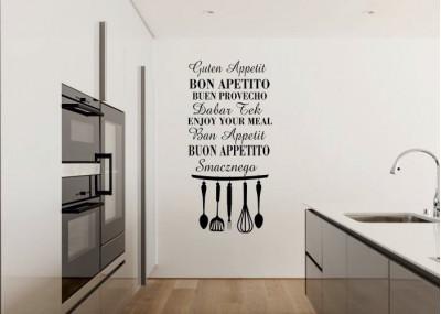 Naklejka do kuchni Smacznego 751