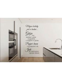 Naklejka do kuchni Miejsce kobiety  746