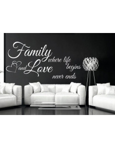 Family where life begins and love never ends 165