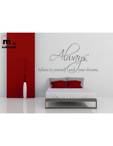 Always believe in yourself ... 328