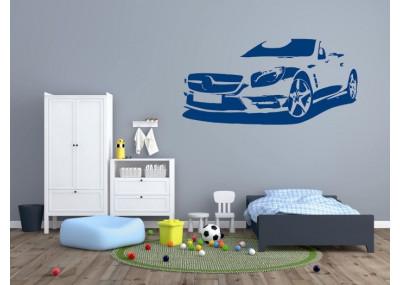 Naklejka na ścianę samochód 1305