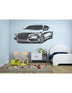 Naklejka na ścianę sportowy samochód 1308