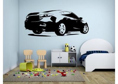Naklejka na ścianę szybki samochód 1312