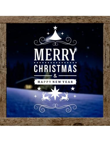 Dekoracja Świąteczna Merry Christmas 623