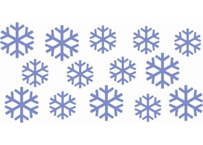 Dekoracja świąteczna Śnieżynki Gwiazdki 626