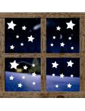Naklejka świąteczna Gwiazdki 629