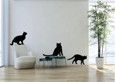 naklejki ścienne z kotami 1019