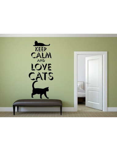keep calm and love cats 1022