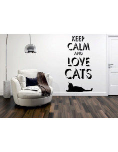 keep calm and love cats 1023