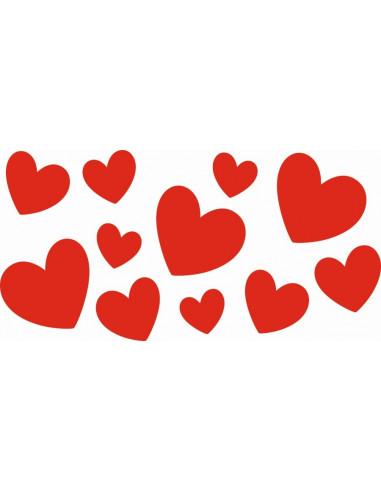 Znalezione obrazy dla zapytania: walentynkowe serca