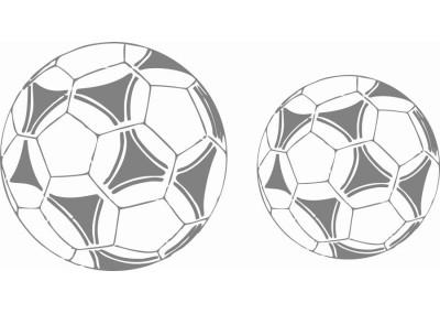 Naklejki na ścianę do pokoju dziecka - Piłka Nożna 1136