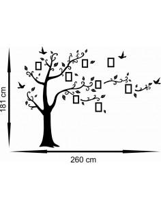 Drzewo z ramkami na zdjęcia 1500