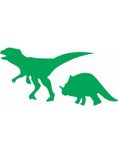 naklejki na ścianę do pokoju dziecka - dinozaury 1149