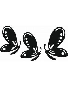 Naklejki na ścianę do pokoju dziecka - Motyle 1166
