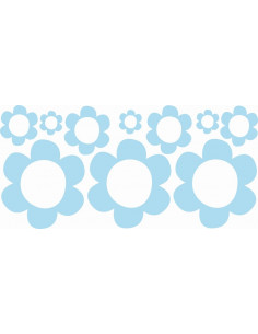 Naklejki na ścianę do pokoju dziecka - Kwiaty 1181